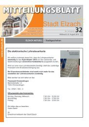 KW32 - Stadt Elzach