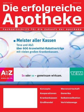 Ausgabe 04.2011 - Die erfolgreiche Apotheke