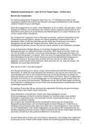 MVV TFV 2012_Bericht - Theater Hagen