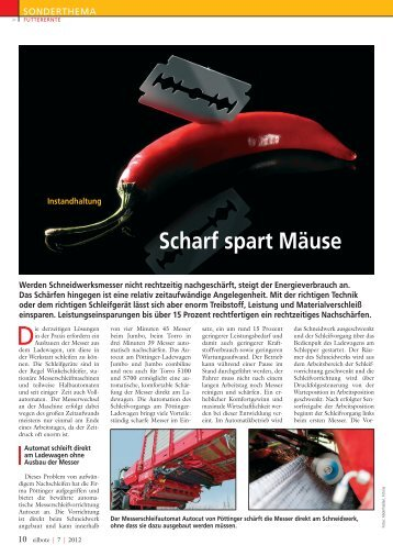 Scharf spart Mäuse - encons.de