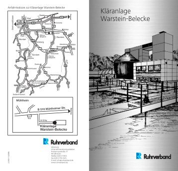 Kläranlage Warstein-Belecke - Ruhrverband