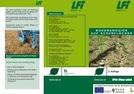Bodenerosion auf acKerflächen - Landeskammer für Land- und ...