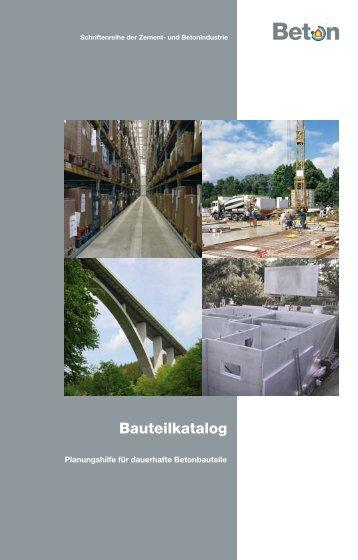 Bauteilkatalog 3 - HeidelbergCement