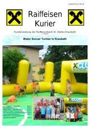 Ausgabe Juli 2008 - Raiffeisen