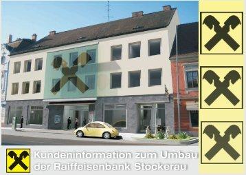 Kundeninformation zum Umbau der Raiffeisenbank ... - MeineRaika.at