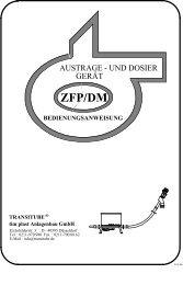 Bedienungsanleitung - tim plast Anlagenbau GmbH