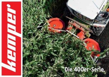 Die 400er-Serie - Kemper GmbH & Co. KG