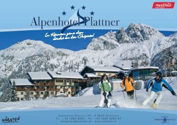 download price-list - Alpenhotel Plattner