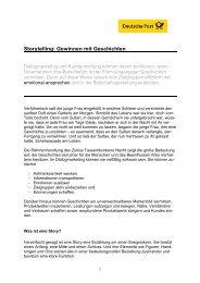 Storytelling: Gewinnen mit Geschichten - direktplus.de
