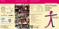 Einladung zum 3. Schul-Theater Festival - KulturGut Holzhausen eV