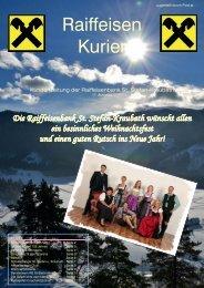 Ausgabe Dezember 2011 - Raiffeisen
