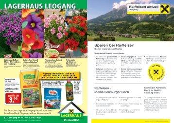 LAGERHAUS LEOGANG - Raiffeisenbank Leogang