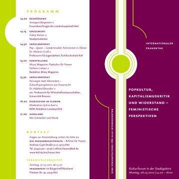 Programm mit weiteren Informationen als PDF - Feministisches ...