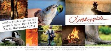 Großes Fischerfest für die ganze Familie: - Forellenhof Helmstorf ...
