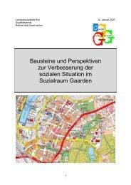 Bausteine und Perspektiven - Landeshauptstadt Kiel