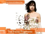The Tracey Fragments - Wolfgang Ruge