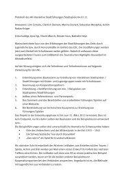 Das Protokoll der Sitzung zum Download. - Jugendring Düsseldorf