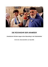 DIE RÜCKKEHR DER ARAMÄER - Return of the Aramean People