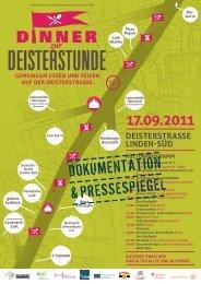 DOKUMENTATION & PRESSESPIEGEL - Stadtteilforum Linden-Süd