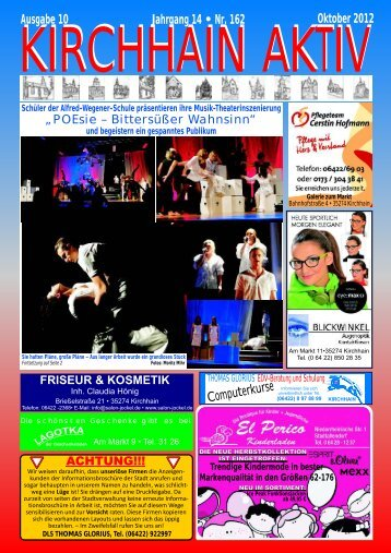 Ausgabe 10 Jahrgang 14 • Nr. 162 Oktober 2012 - Glorius ...