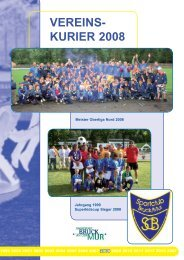 VEREINS- KURIER 2008 - SC Bruck