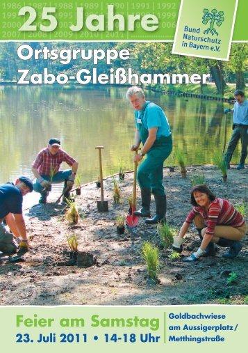25 Jahre Pritzelkram - Bund Naturschutz in Bayern eV: Home