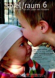 Gesellschaft zur Förderung von Kinderbetreuung e. V. Gesellschaft ...