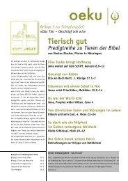 Beilage 5 - oeku Kirche und Umwelt