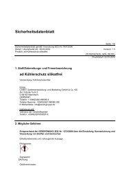 Sicherheitsdatenblatt - Autoteile Walter Schork GmbH