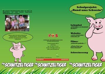 """Schulprojekt: """"Rund ums Schwein"""" - Schweine.at"""