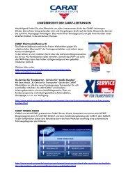 Newsletter Carat