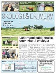Nr. 463 - september 2010 - Økologisk Landsforening