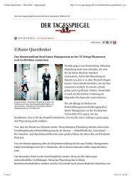 Urbane Querdenker - Wirtschaft - Tagesspiegel - Real Estate ...