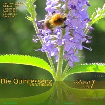 Die Quintessenz Report