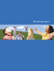 America Breathing Easier - Centers for Disease Control and ...