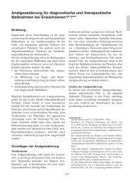 Analgosedierung für diagnostische und - DGAI