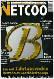 Juli/August 2011 – Netcoo (Deutschland) - Nu Skin