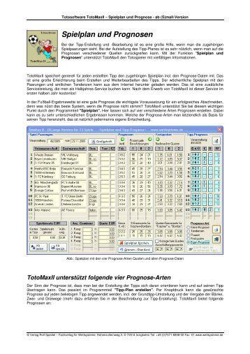 oddset spielplan pdf