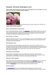 Juni - Verein für Gartenbau und Landespflege e.V. - Hambach