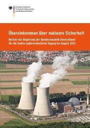 Übereinkommen über nukleare Sicherheit - Bundesamt für ...