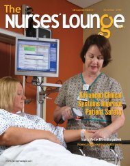 The Continuing Education And Preparation Our Staff - Nurses Lounge