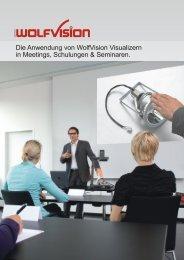 Die Anwendung von WolfVision Visualizern in Meetings ...