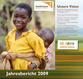 Jahresbericht 2009 - World Vision
