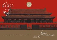 China meets Weggis - China Festival vom 22. Januar bis 13 ...