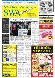 Ausgabe E, Olpe, (5.83 MB) - Siegerländer Wochen-Anzeiger