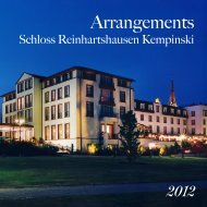 2012 - Kempinski Hotels