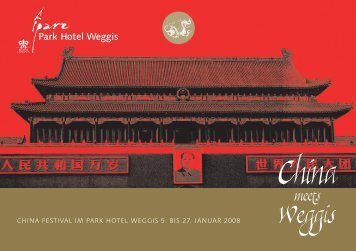 China Festival Programm 05.-27.01.2008 als PDF - Donghua Li