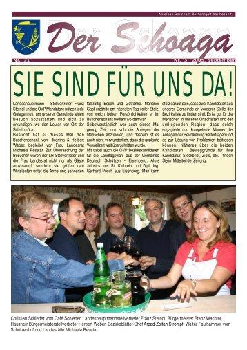 Christian Schieder vom Café Schieder ...
