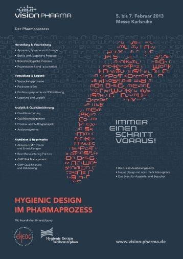 Hygienic Design - VISION PHARMA