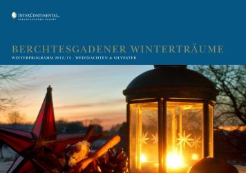 Winter 2012/13 - InterContinental Berchtesgaden Resort